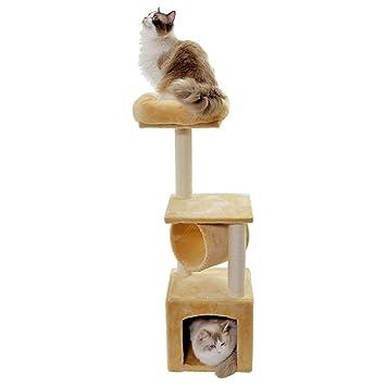 Árbol Para Gatos,torre Y Soporte De árboles - Centro De Actividades Para Mascotas Del