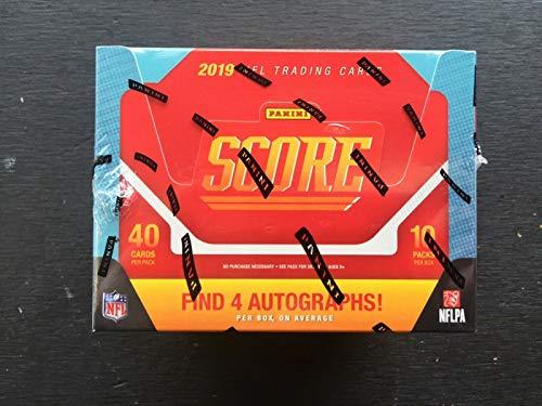 Score Football Hobby Box - 2019 Panini Score NFL Football HOBBY box (10 pk, FOUR Autograph cards)