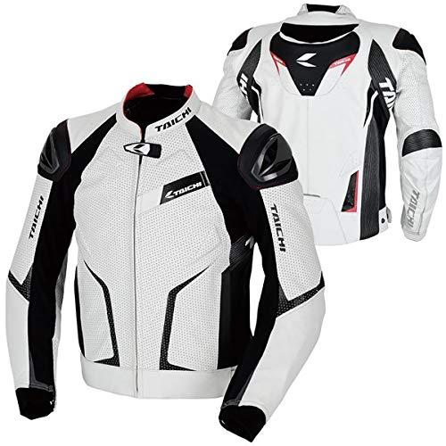 RS Taichi GMX Arrow Leather Jacket - RSJ832 (46 Euro/Small) (White/Black)