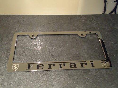 aftermarket-ferrari-stainless-steel-license-plate-frame