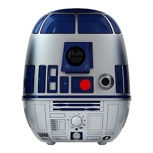 Disney's Star Wars R2-D2 Ultrasonic Cool Mist and Anti-Microbial 1 Gallon Kid-Friendly and Quiet Humidifier