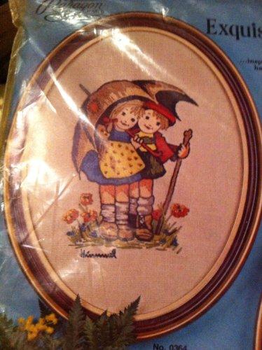 (Hummel Embroidery Kit the Umbrella Children)