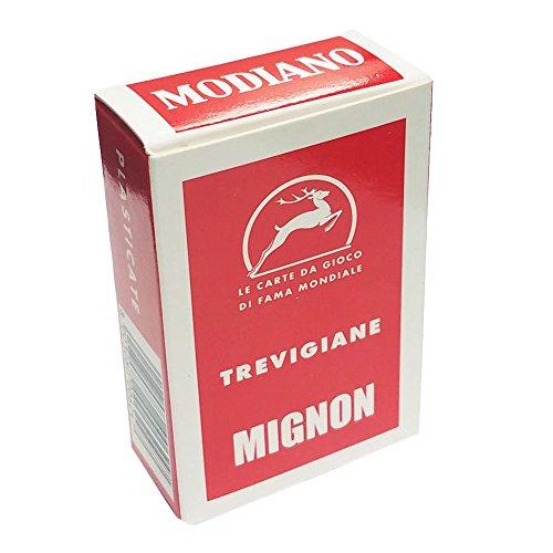 Trevigiane Treviso Italian Regional Deck 40 Playing Cards Mini Size Mignon ()