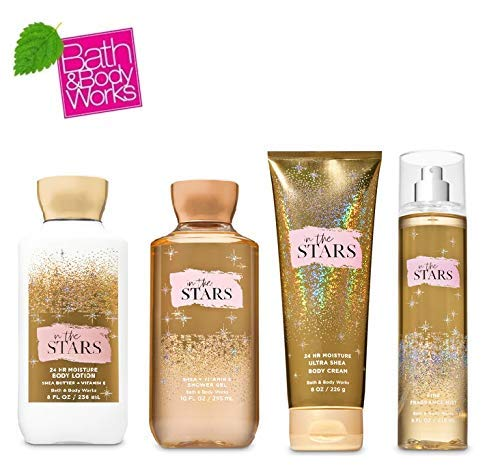 - Bath and Body Works IN THE STARS Gift Set - Body Lotion - Body Cream - Fragrance Mist & Shower Gel - New Fragrance