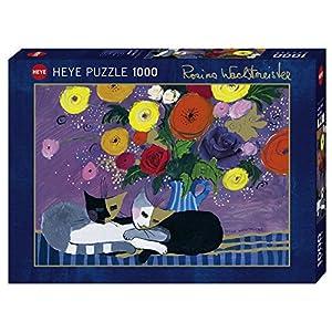 Heye 1000 Teile Puzzle Con Effetto Oro Wachtmeister Sleep Well 1000 Pezzi Colore Grigio Vd 29818