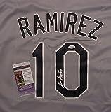 Alexei Ramirez Chicago White Sox Autographed Grey #10 Jersey JSA COA