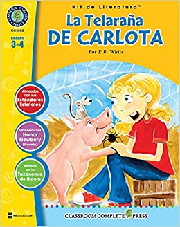 La Telaraña de Carlota - Kit de Literatura Gr. 3-4 (Spanish Edition ...