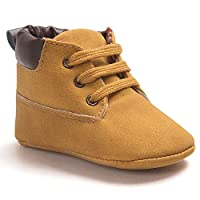 Voberry® Toddler Baby Boy's Leather Sneaker Shoes Lace up Snow Boots Warm (0~...