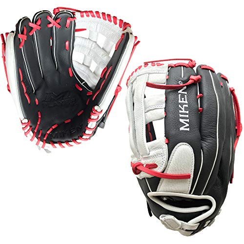 Miken Player Series Slowpitch Softball Glove, 14 inch, Right Hand Throw