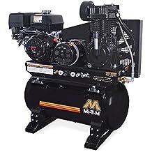 Mi-T-M AG2-SH13-30M Compressor/Generator, 2-Stage Combination, 4000W Maximum AC Output, 30 gal