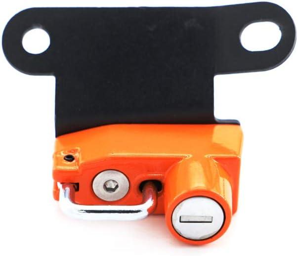 Black Motorcycle Helmet Lock Anti-Theft For KTM 1290 SuperDuke R 2014-2019