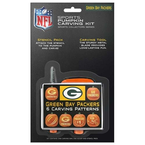 NFL Green Bay Packers Pumpkin Carving (Green Bay Packers Halloween Decorations)