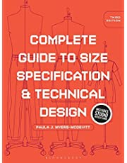 Complete Guide to Size Specification and Technical Design: Bundle Book + Studio Access Card