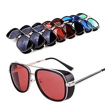 FGRYGF-eyewear Gafas de sol deportivas, gafas de sol vintage, Oculos Masculino Gafas De Iron Man Windproof Sunglasses Zonnebril Mannen Tony Stark ...