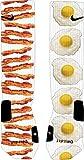 Bacon and Eggs Nike Elite Socks (Large 8-12)