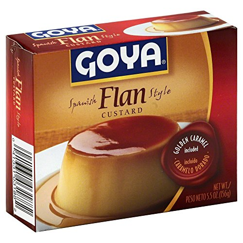 Flan Mix - Goya Flan with Caramel 5.5 OZ(Pack of 6)