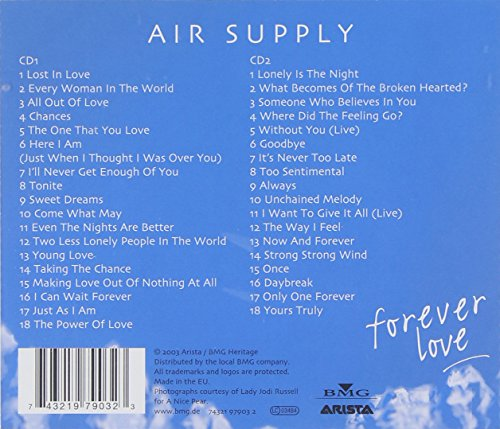 Air Supply-Forever Love: 36 Greatest Hits 1980-2001 (cd1) full album zip