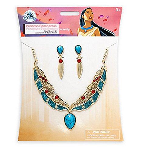[Official Disney Pocahontas Fancy Dress Costume Jewellery Set] (Pocahontas Dress Disney)