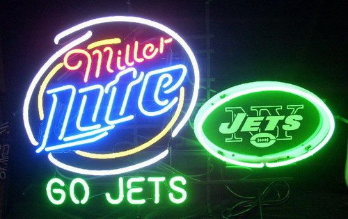 New York Jets Neon Sign (Desung Brand New 32