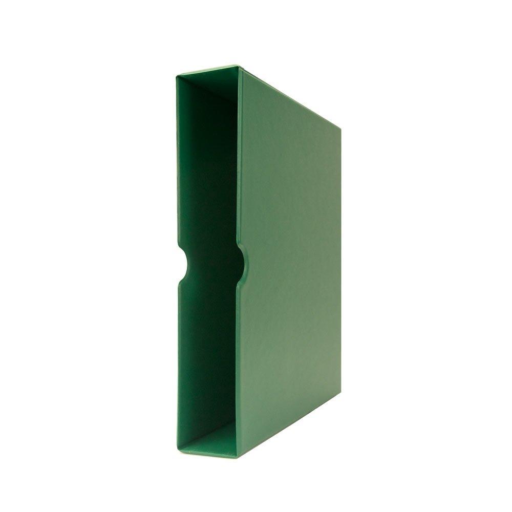 Blumberg Portfolio 3 Ring Binders (Slipcase, Green Beauty)