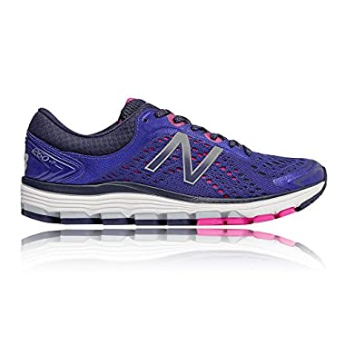 New Balance Women's W1260v7 W1260BY7 Pisces Blue Lime Glo