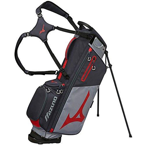 Mizuno brd3s Bolsa de Golf Unisex, Color Gris/Rojo: Amazon ...