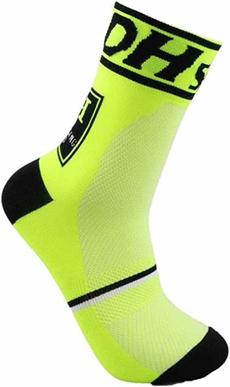 JIANYE Calcetines Ciclismo Transpirable Que Absorbe Running Deporte Bicicletas Calcetines Hombre Mujer: Amazon.es: Deportes y aire libre
