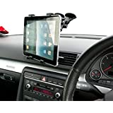 "Ultimateaddons® Dual Vehicle Windscreen Mount Holder for Apple iPad 2 3 4 Air 9.7"" Tablet PC"