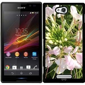 Funda para Sony Xperia C S39H - Flor Asiática by Marina Kuchenbecker