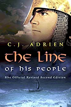 The Line of His People (Kindred of the Sea Book 1) by [Adrien, C.J.]