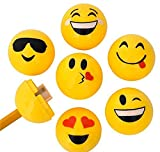 1.5'' EMOTICON SHARPENER (24PC/UN), Case of 24