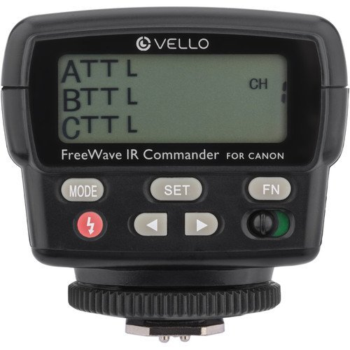 Vello FWIRC-C FreeWave IR TTL Flash Commander for Canon by Vello