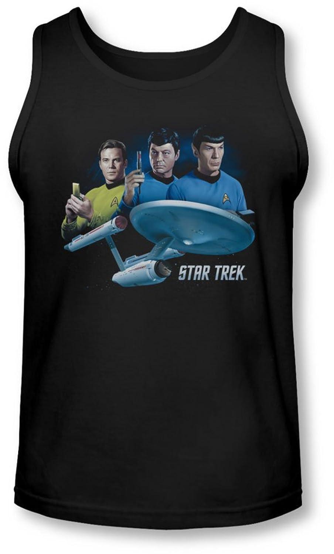 Star Trek - Mens Main Three Tank-Top