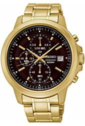 Seiko Chronograph Date Two-Tone Stainless Steel Men's watch #SKS468