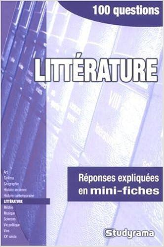 Livre Littérature epub pdf