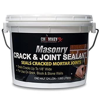 Chimney Rx Crack Joint Sealant 1 2 Gallon Deck Waterproof Sealants Amazon Com Industrial Scientific