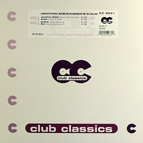 Jonathan-Angie-M.B.O.-C Gable: Central Park-Clouds-Crazy Phon [Vinyl Single] [Vinyl Single] (Vinyl)