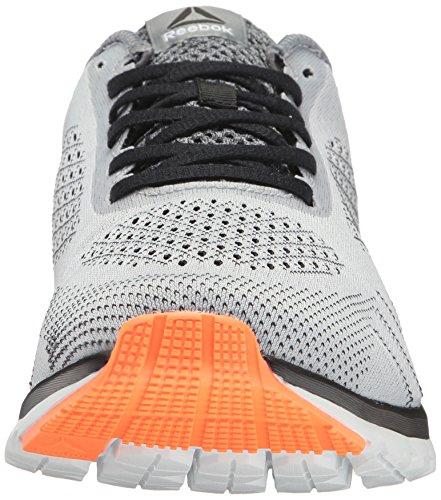 Reebok Mens Print Smooth Ultk Running Shoe Cloud Grey/Black/Polar Blue/Wild Orange x0aybURN