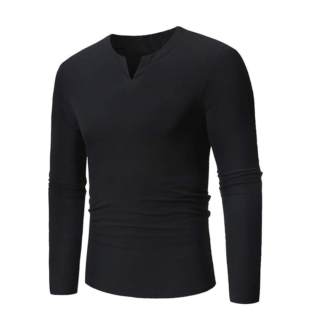scaling Long Sleeve Tee/♥ Mens Autumn Long Sleeve Patchwork Pullover Sweatshirt Top Tee Outwear Blouse