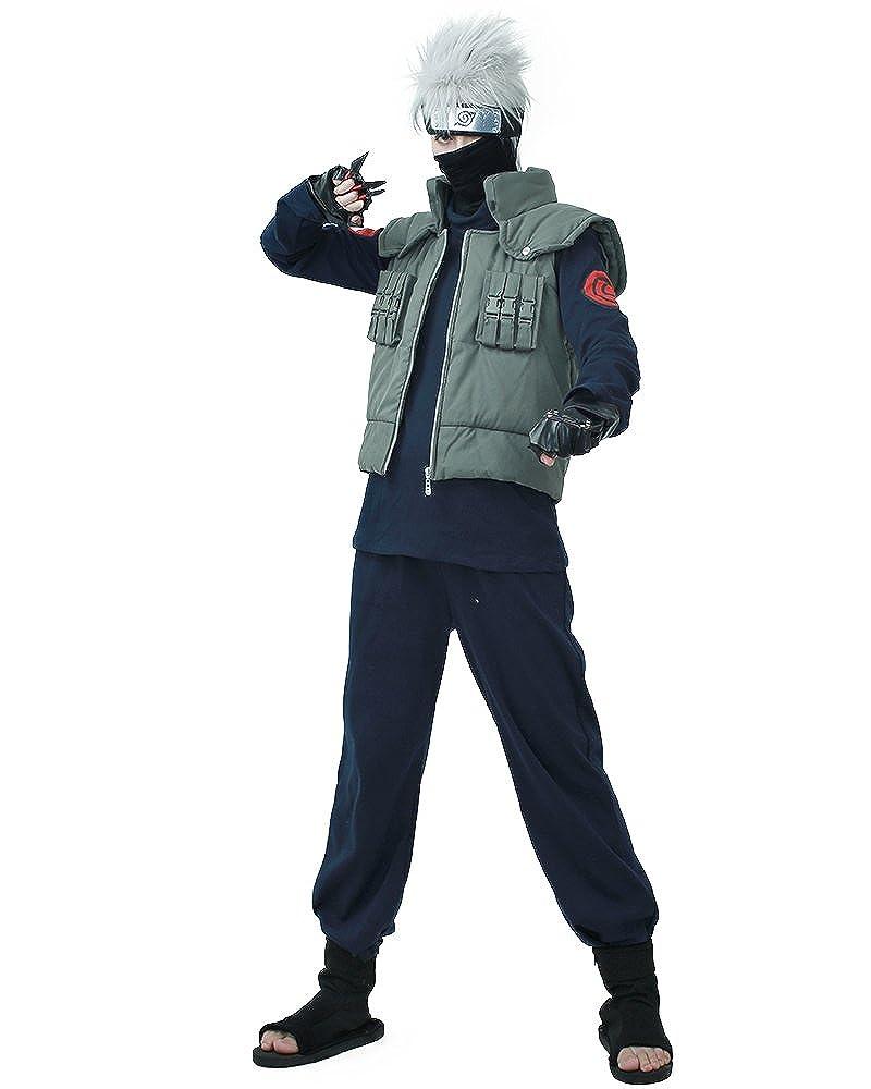 miccostumes Men's Full Set for Kakashi Hatake Cosplay Costume