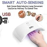 Euone USB UV Nail Gel Curing Lamp Light Nail Gel Polish Dryer Nail Art Machine