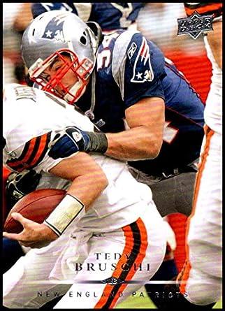 2008 Upper Deck  115 Tedy Bruschi NM-MT New England Patriots Official NFL  Football bc47b924d