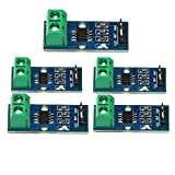 Homyl 5 Pieces 30A Range Hall Current Sensor Module Board ACS712 Module with 3 Pin for Arduino