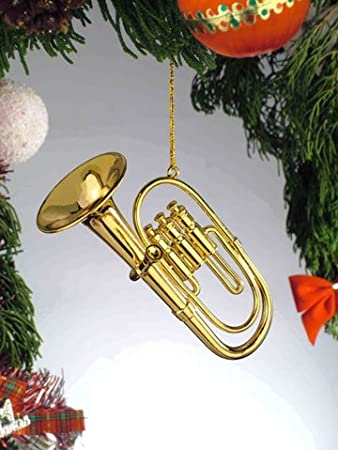 Image Unavailable. Image not available for. Color: Gold Brass Tuba  Miniature Music Musical Instrument Christmas Tree Ornament - Amazon.com: Gold Brass Tuba Miniature Music Musical Instrument