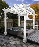 Cheap New England Arbors Liberty Pergola