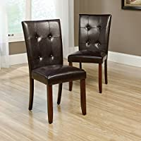 Sauder 418863 Dining Chair Palladia Select Cherry Parsons