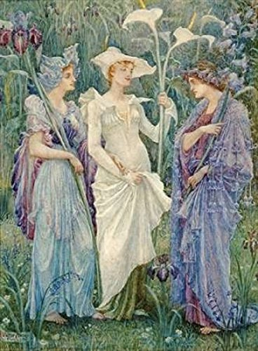 Ensigns Of Spring Poster Print By Walter Crane  18 X 24