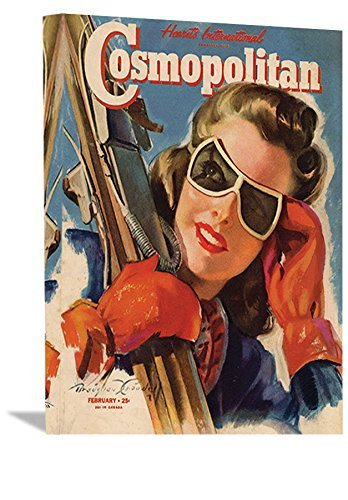Vintage Cosmopolitan Ski Magazine -FREE SHIPPING (Ski Magazine Best Skis)