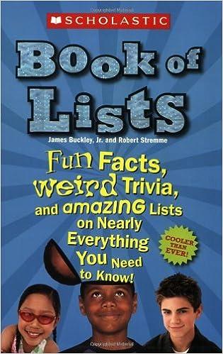 55a2d986d7658 Scholastic Book of Lists: Jr. James Buckley, Robert Stremme: 9780439837576:  Amazon.com: Books
