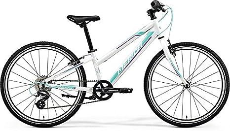 Niños Bicicleta 24 pulgadas color blanco – Merida Matts J24 Race Mountain Bike – Shimano 8 marchas: Amazon.es: Deportes y aire libre